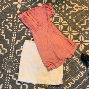Free People Outfit—Skirt & Shirt